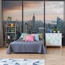 wallpaper new york skyline window view