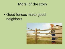 The Fence Moral Story