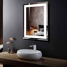 led lighted illuminated bathroom vanity