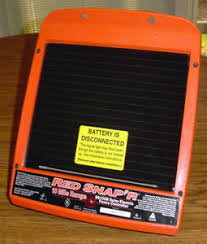 Red Snap R Electric Fence Solar Powered 10 Mile Range Controller Charger Ss100b Ebay