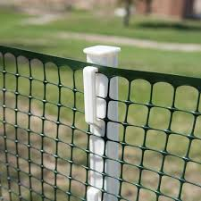 Everbilt 1 In X 1 In X 4 Ft Step In Plastic Fence Post 901120eb The Home Depot