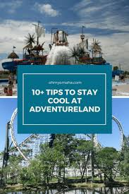 how to stay cool at adventureland oh