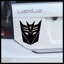 Amazon Com Transformers Decepticon Emblem Medium Vinyl Decal Handmade