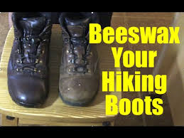 how to beeswax boots you