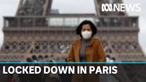 Paris under lockdown ...