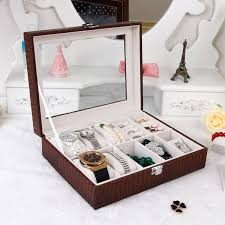 luxury watch box display case organizer