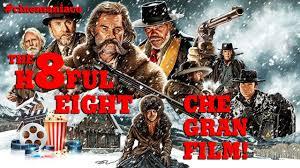 Che gran film THE HATEFUL EIGHT Recensione LIVE
