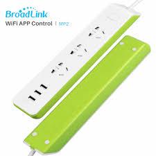 Broadlink MP2 Ổ Cắm Cắm Điện Strip với 3 Cổng USB ổ cắm Thông Minh Wifi  Không Dây Kết Nối thiết bị Điện Qua APP Kiểm Soát|