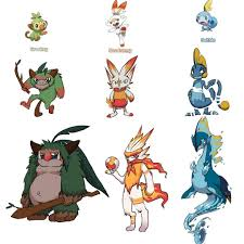 Starter Evolution Contest⚔️?️ | Pokémon Sword and Shield ...