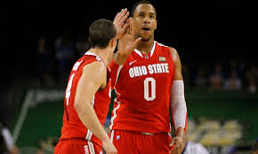 Watch Jared Sullinger crosses out M's in Carmen's Crew name on bracket