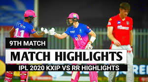 IPL 2020 RR vs KXIP Highlights ...