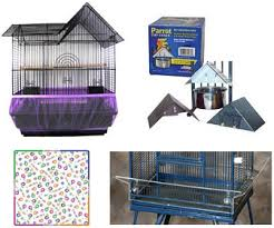 bird cage seed catcher skirt
