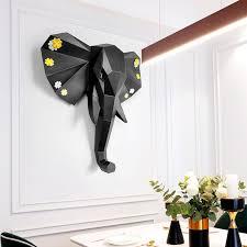 3d large elephant statue sculpture home