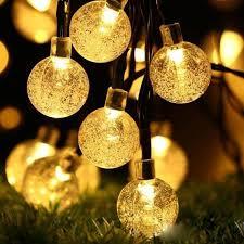50 60 led solar string fairy lights