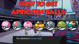 How to Get Apricorn Pokeballs and Dream Ball in Pokemon Sword and ...