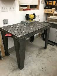 fab block welding fixture table diy