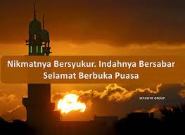 kata kata ucapan selamat berbuka puasa ramadhan selamat