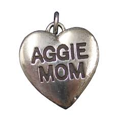Aggie Mom Heart Pendant Shop Corps Of Cadets