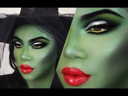 green witch makeup tutorial