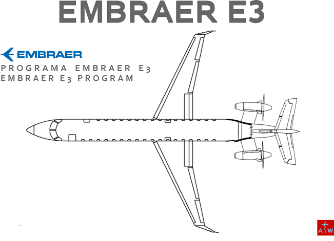 Image result for Embreaer E3""