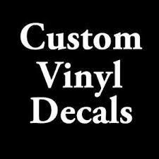 Custom Vinyl Decals Home Facebook