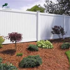 China Hot Sale White Color Pvc Solid Panel Fence Private Fence Pvc Privacy Fence China Pvc Fence And Privacy Fence Price