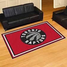 fanmats nba toronto raptors red 5 ft x