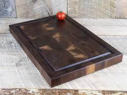 walnut end grain cutting board butcher