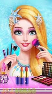 mermaid princess makeup fashion