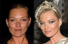 7 celebs without makeup photos