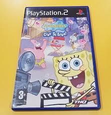 spongebob take turns game ps2 english