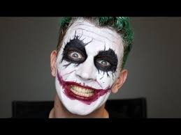 joker halloween makeup tutorial