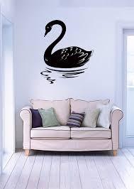 Amazon Com Designtorefine Wall Vinyl Sticker Black Swan Symbol Of Uncertainty Z1024 M Home Kitchen