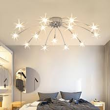 Romntic Ceiling Lights Kids Room Children Room Led Flush Ceiling Lights Start Lampshades Nursery Baby Room Light Ceiling Lights Aliexpress