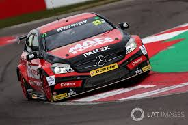 Adam Morgan, Ciceley Motorsport with Mac Tools Mercedes Benz A ...