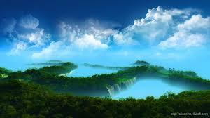 superb cloudy nature wallpaper hd 1080p