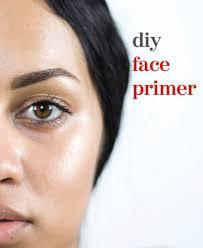 diy face primer for oily skin the