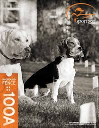 Sportdog Sdf 100a Manual Dog Fence