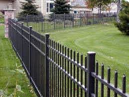 How To Protect Aluminum Fence Posts From Weed Trimmer Home Improvement Stack Exchange