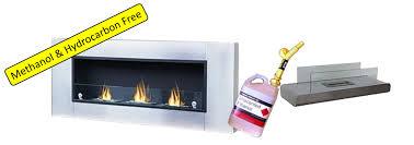 ethanol fireplace fuel odourless