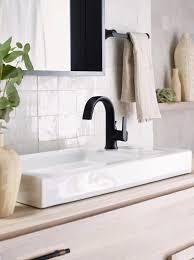 matte black bath faucet for