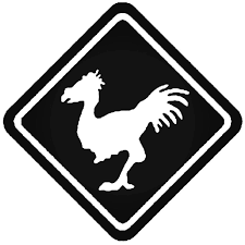 Chocobo Crossing Ps4 Xbox Final Fantasy Decal