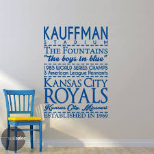 Hey I Found This Really Awesome Etsy Listing At Https Www Etsy Com Listing 207822051 Kansas Kansas City Royals Baseball Kansas City Royals Vinyl Wall Decals