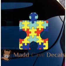 Autism Puzzle Piece Decal