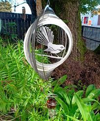 single fantail wind spinner selao