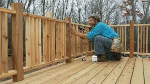 How To Attach Deck Railing Posts With Fastenmaster Fine Homebuilding
