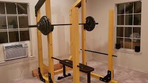 build your own power rack diy projects