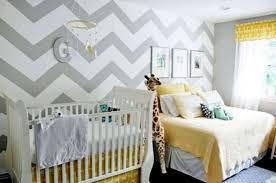 Chevron Walls Baby Room Ideas Decoredo