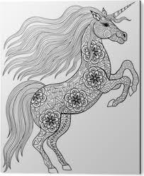 Sticker Paard Shadow Silhouette Cheval Pixers We Leven Om Te