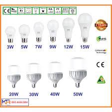 Bóng đèn led bulb MPE trụ 3w, 5w, 7w, 9w, 15w Hàng cao cấp tiêu chuẩn Châu  Âu